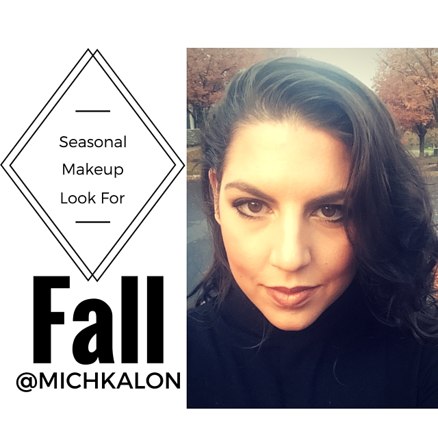 Seasonal Fall Makeup | Dark Lip