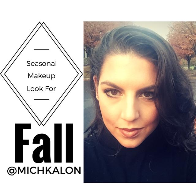 Seasonal Fall Makeup | Dark Lip